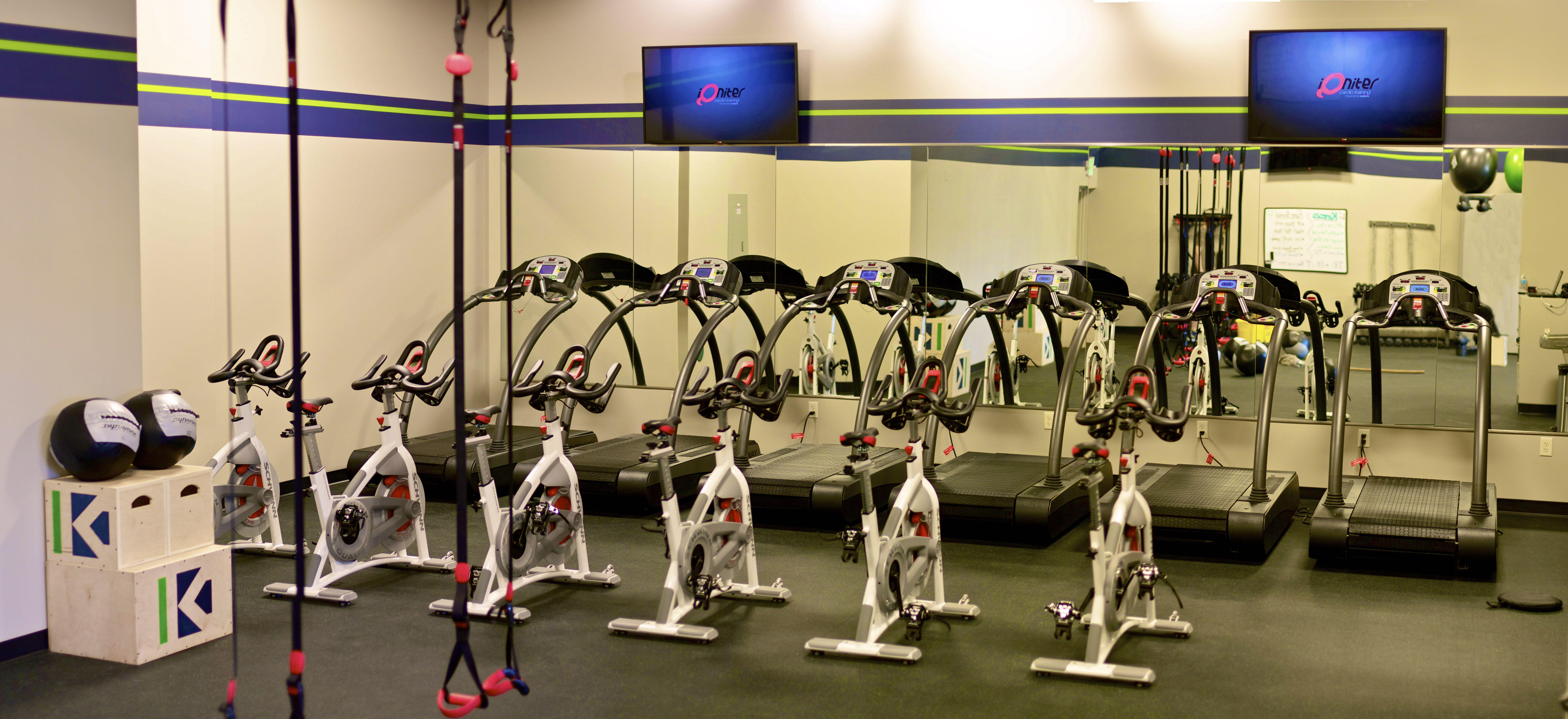 Woodway Treadmills & Schwinn Bikes