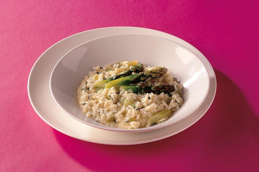 Risotto Ricetta Italiana.Ricetta Risotto Agli Asparagi Con Salvia La Cucina Italiana Recipe Risotto Asparagus Risotto Recipe Asparagus