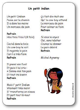 Top Chanson Un petit indien Michel Agneray, chanson petit indien  MZ46