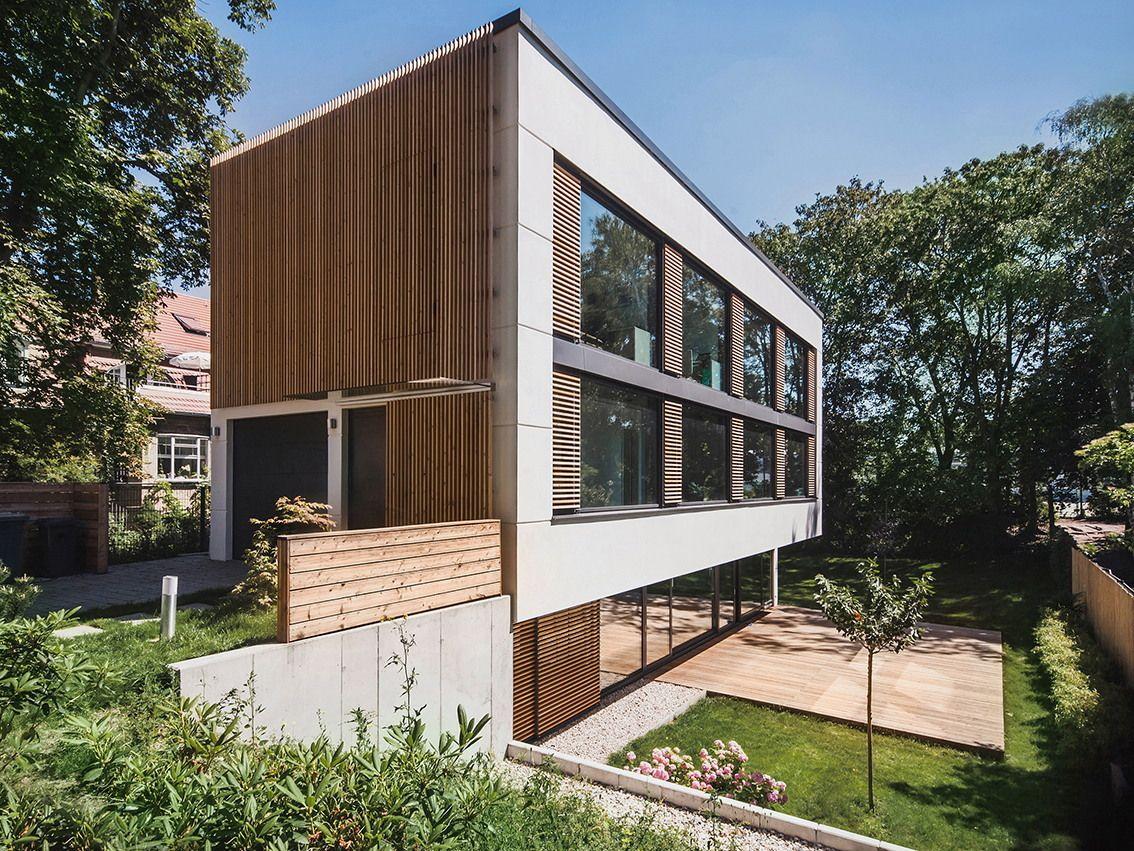 Ungefähr wie die Katsura-Villa - Haus M in Berlin von Peter Ruge
