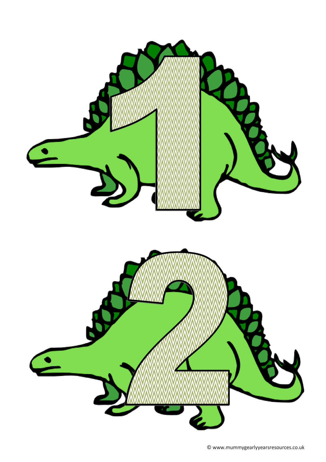 Dinosaur number line - Mummy G early years resources   Dinosaurs ...