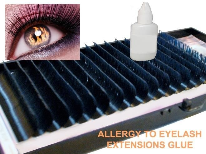 Allergy To Eyelash Extensions Glue Try Another Brand Or Not