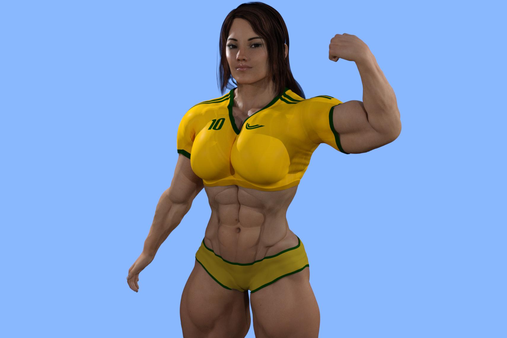 FREE Nude Muscle Women  female bodybiulder porn