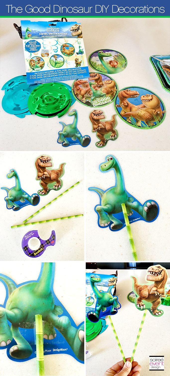 Disneys The Good Dinosaur Party Ideas Diy party decorations DIY