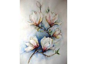 aquarel tulpenboomtak
