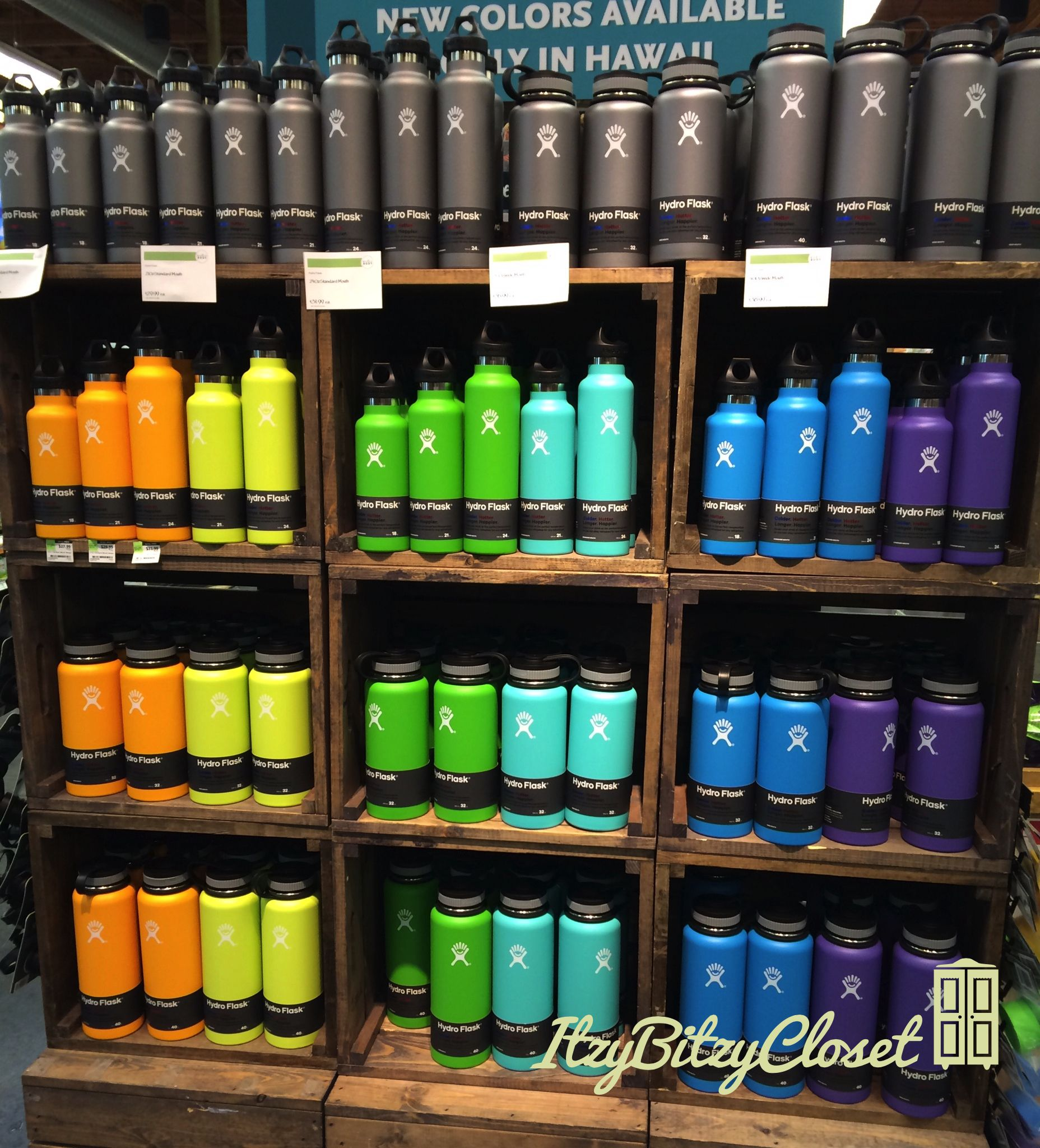 Hawaii Exclusive Colors Hydro Flask 18oz Standard Mouth
