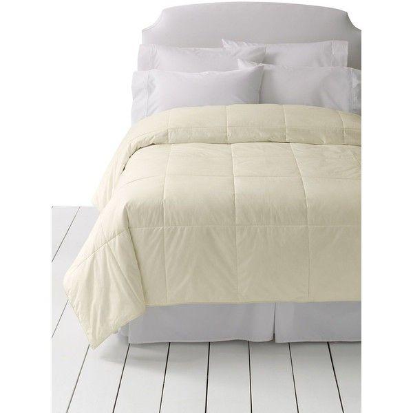 Lands End Comforter Pureloft 119 Liked On Polyvore
