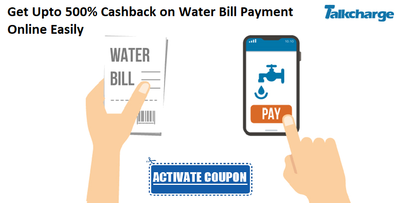 With TalkCharge, paying your water bill payment online