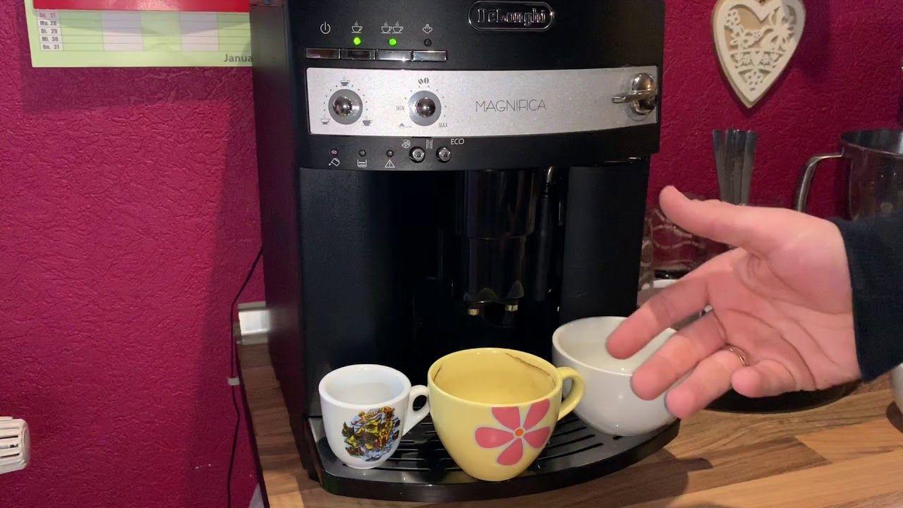 افضل مكائن القهوة ديلونجي كيفية اختيار طعم القهوة ديلونجي ماكينة تحضير قهوة الإسبريسو الأوتوماتيكية Esam 3000 Magnifica Drip Coffee Maker Coffee Maker Coffee
