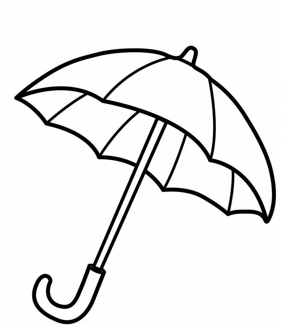 Umbrella Coloring Sheet For Kids Umbrella Spring Coloring Sheets Umbrella Coloring Page