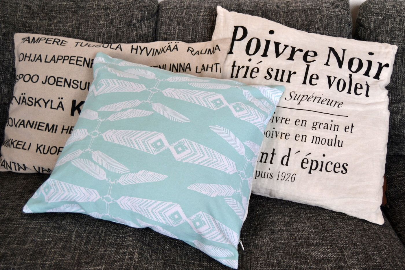 DIY pillow Ivana Helsinki Indian Summer