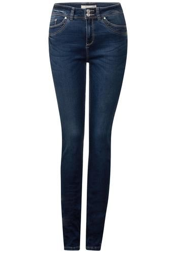 High waist jeans dunkelblau