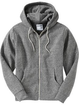 Grey Zip Up Hoodie Mens - Trendy Clothes