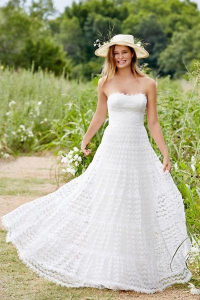 De la nota: Trajes de novia bohemios para una boda campestre Leer ...
