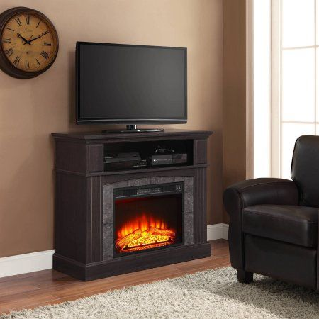 whalen 50 inch fireplace media console 155 black friday walmart rh pinterest com
