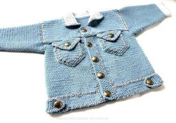 Diese Jacke Wurde In Strickoptik Gehäkelt Jedoch Kann Man Sie Auch
