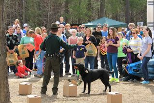 NHFG: Exhibit at Discover WILD NH Day, 4/18/2015