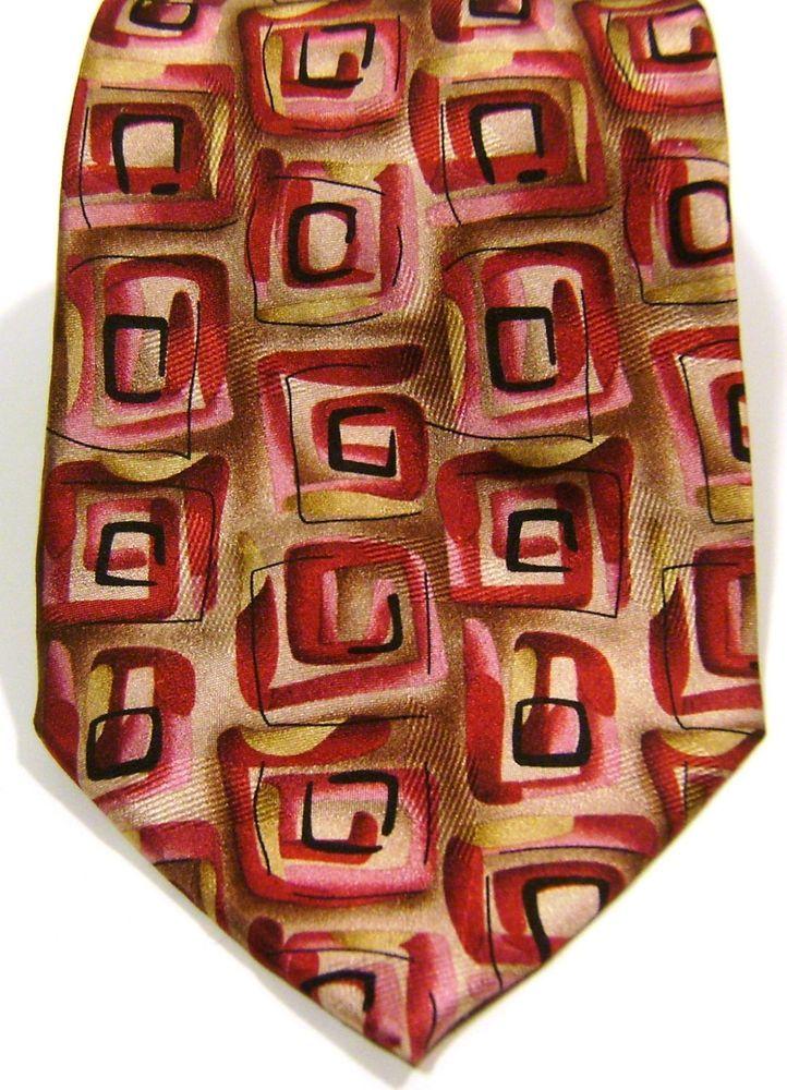 New J. Jerry Garcia New York Night Collection # 45 Mens Abstract Silk Necktie #JGarcia #NeckTie