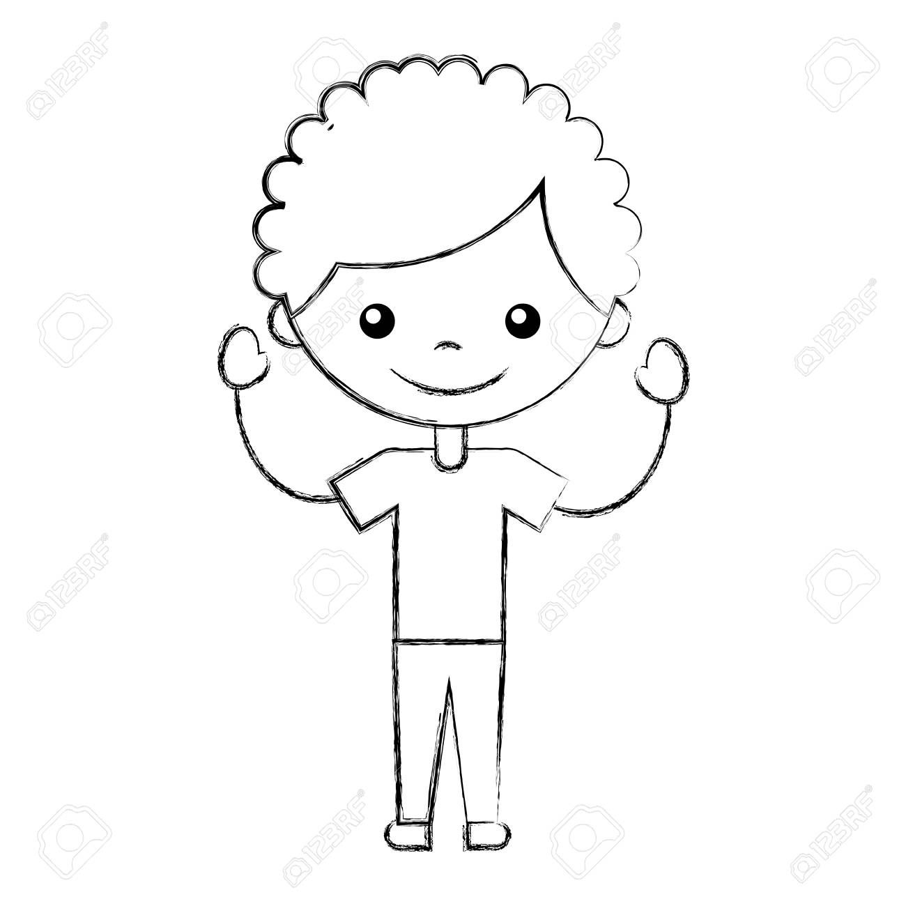 cute boy character icon vector illustration design , #Sponsored, #character, #boy, #cute, #icon, #design