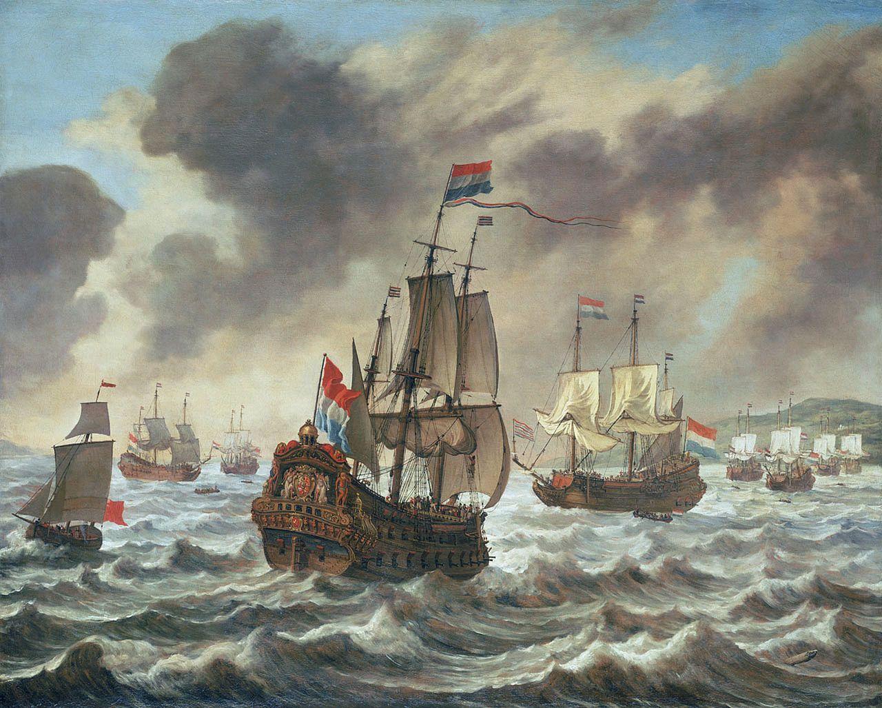 Pinturas Guerra En El Siglo Xvii