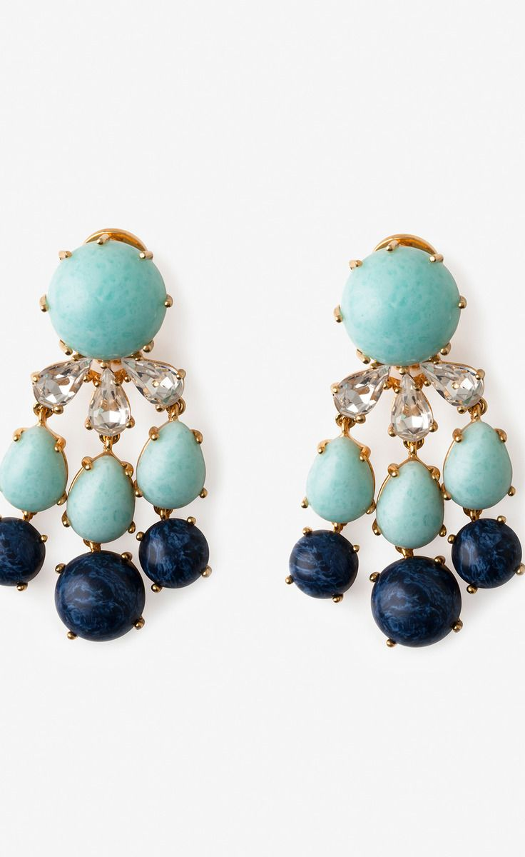 Papyrus Turquoise Earrings