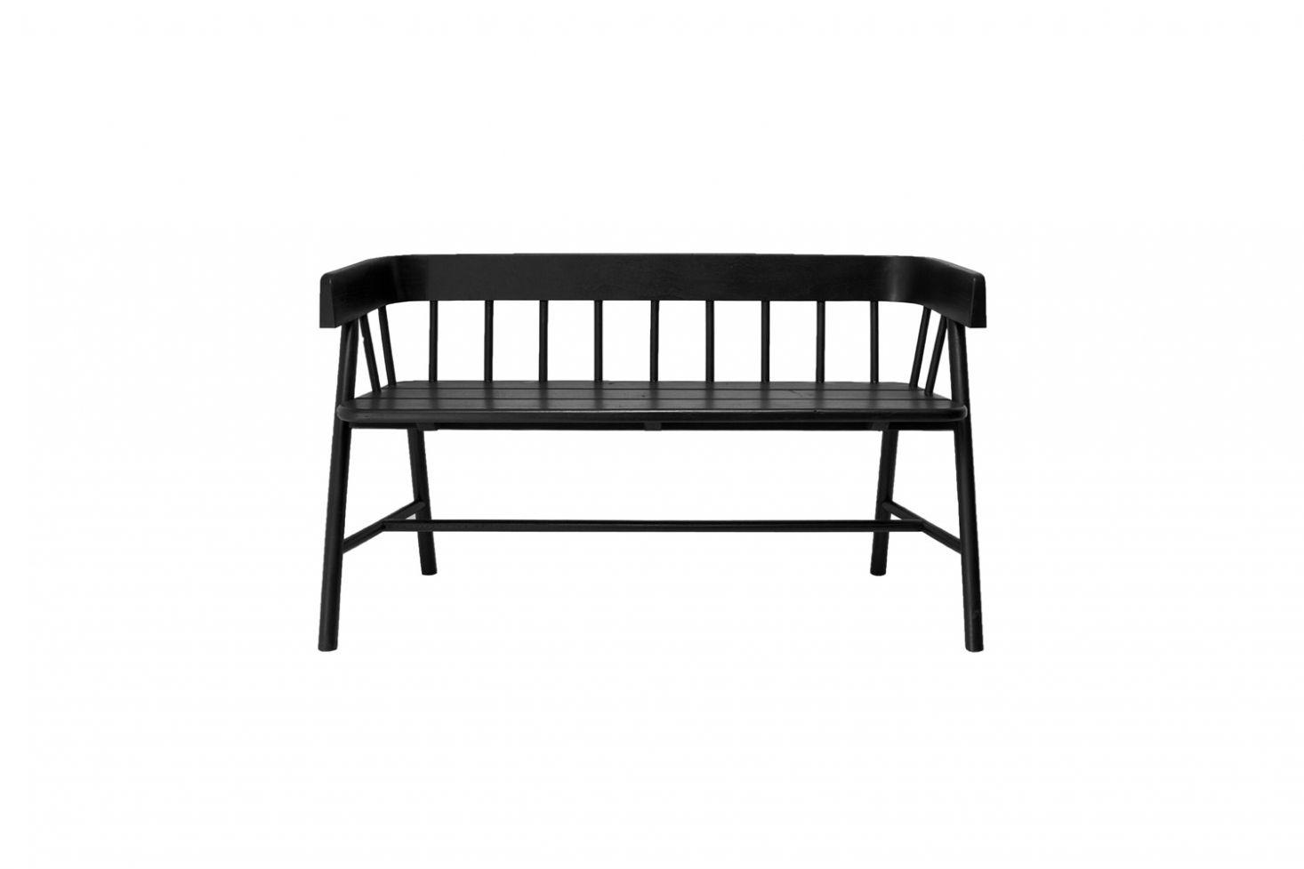 black farmhouse bench with storage