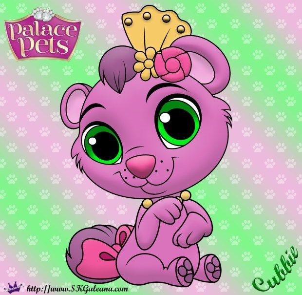 Princess Palace Pet Coloring Page Of Cubbie Princess Palace Pets Palace Pets Disney Princess Pets