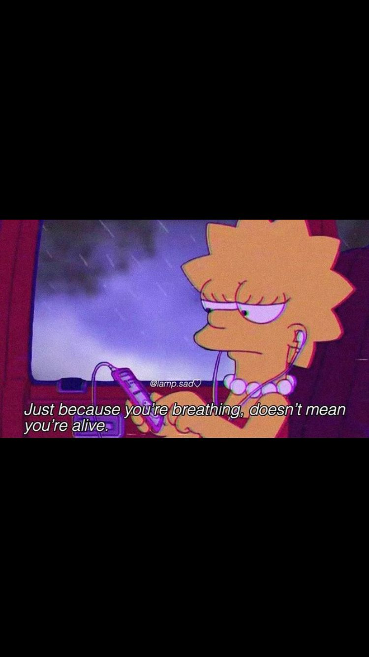 Pin by Emma Schwartz on bored Sad wallpaper, Simpson