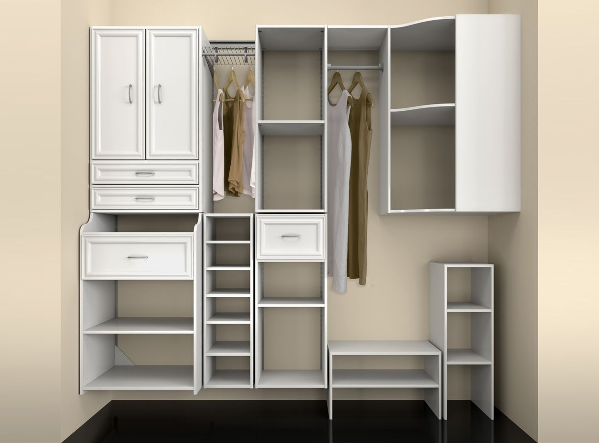Merveilleux Closetmaid Closets | Closetmaid Closet Storage 3D Set   MediaLab 3D  Solutions