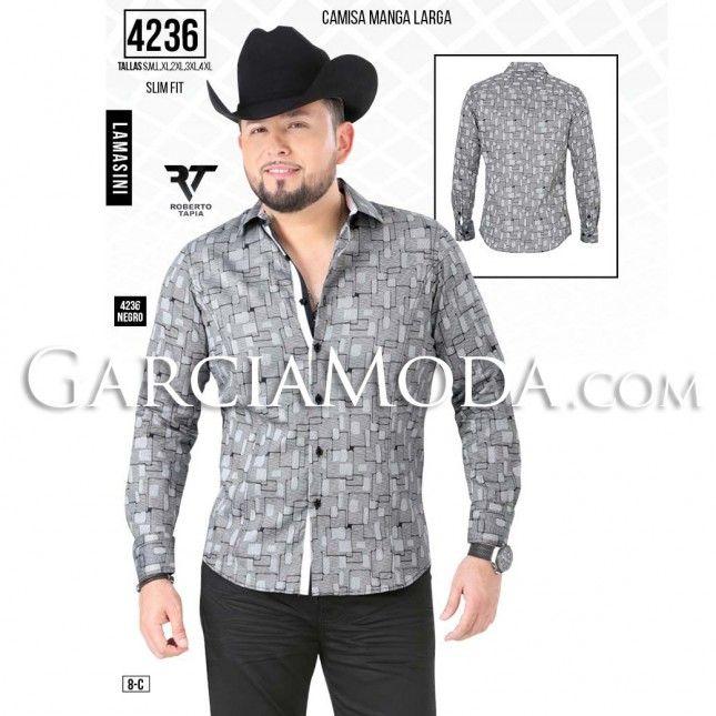 Camisa Vaquera Lamasini Jeans 4236 Negro
