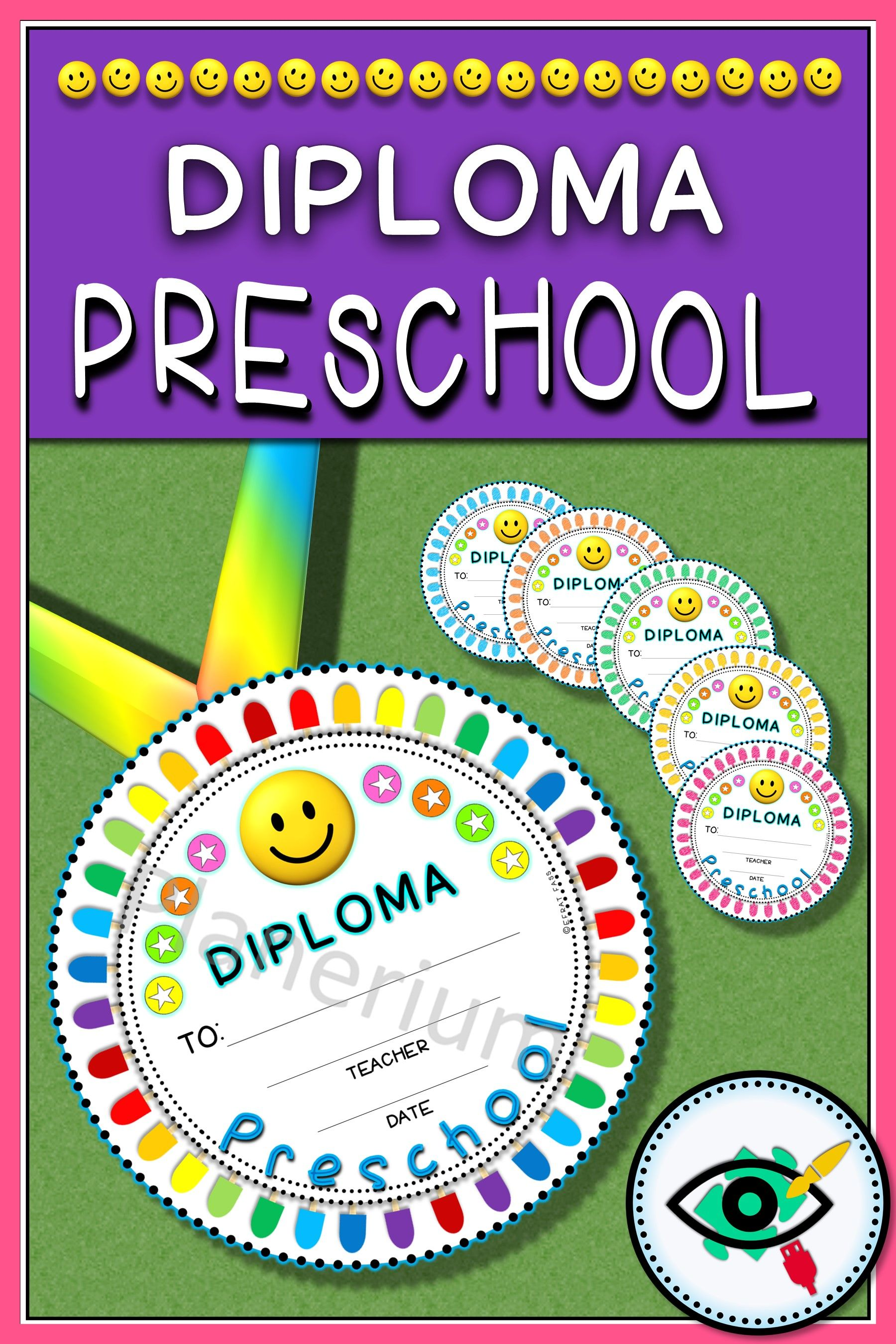 End Of Year Diploma For Preschool