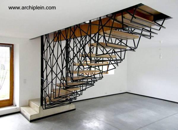 modelos de escaleras interiores