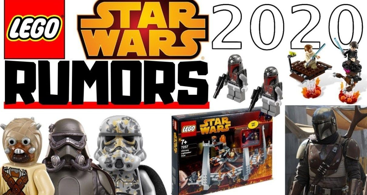 Lego Games 2020.Lego Star Wars Big 2020 Rumors Anakin Vs Obi Wan Y Saga