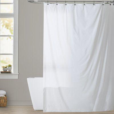 Rebrilliant Bouldin Creek Vinyl Single Shower Curtain Liner
