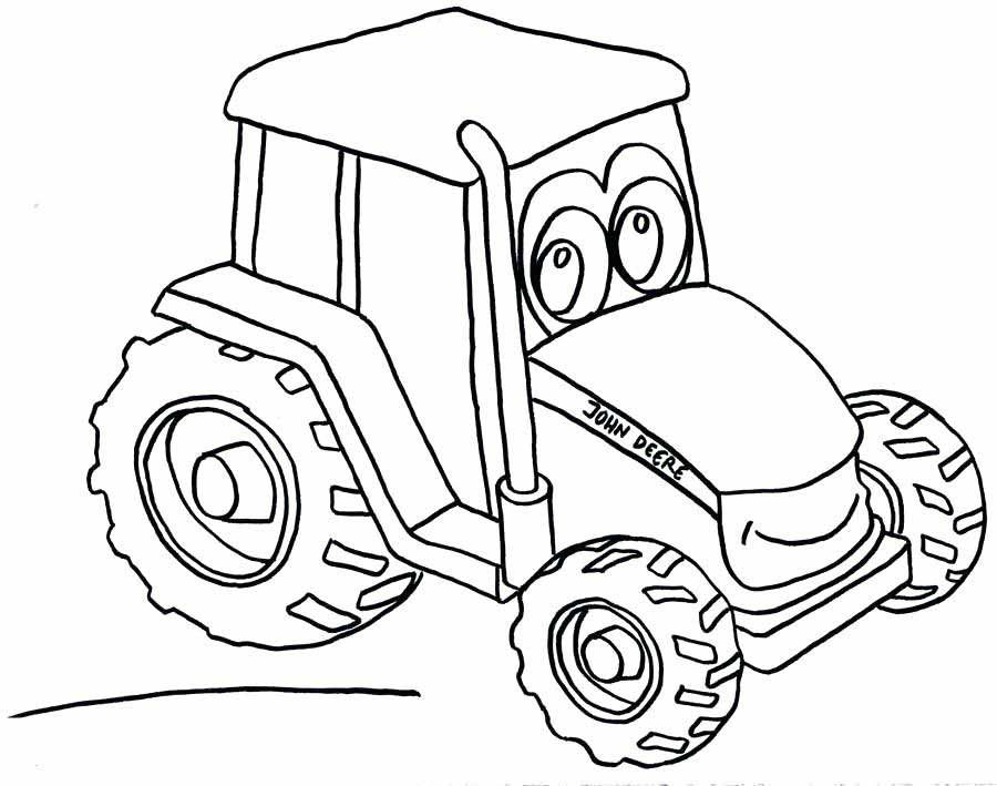 Tractor Coloring Pages Are One Of The Best Online Printable