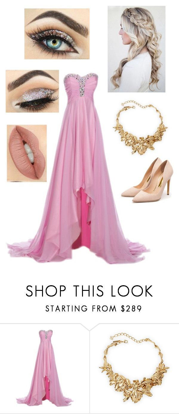 Sleeping Beauty inspired prom outfit\