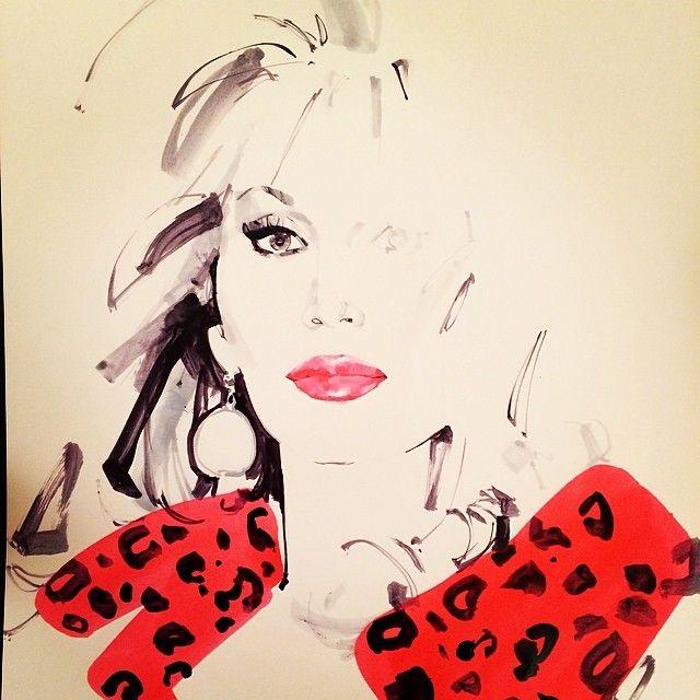 Amanda Lear by Marc-Antoine Coulon | Illustration, Fashion art