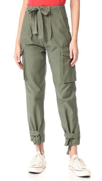90cab6d7afea7 Zoey High Waist Cargo Pants | Birthday/christmas | Pants, Paperbag ...