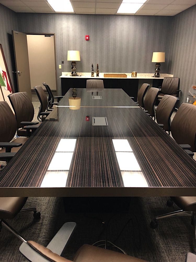 Hampton Modern Conference Table Contemporary conference