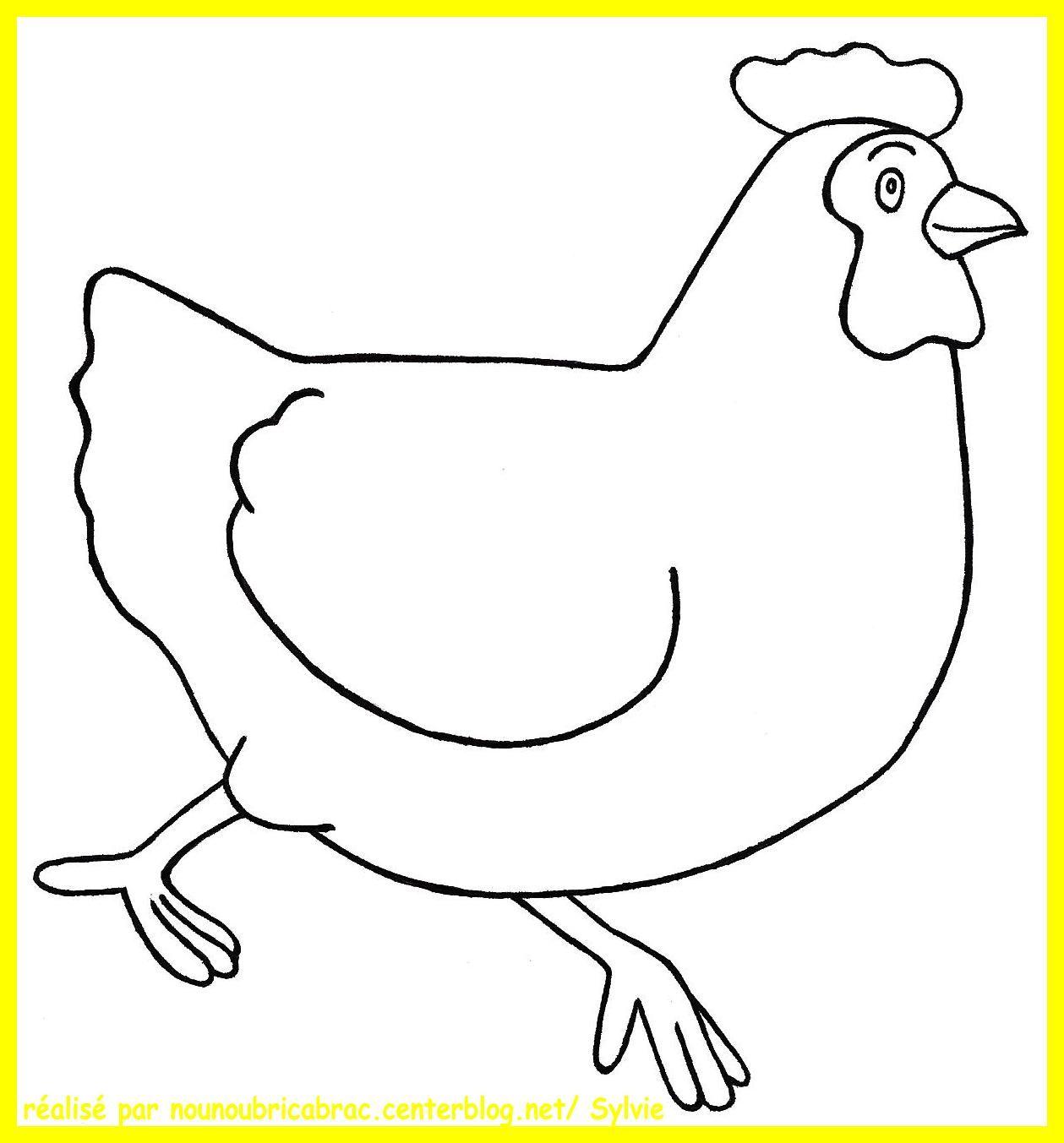 Coloriage poule colorier dessin imprimer paques pinterest colorier poule et coloriage - Dessin de paques facile ...