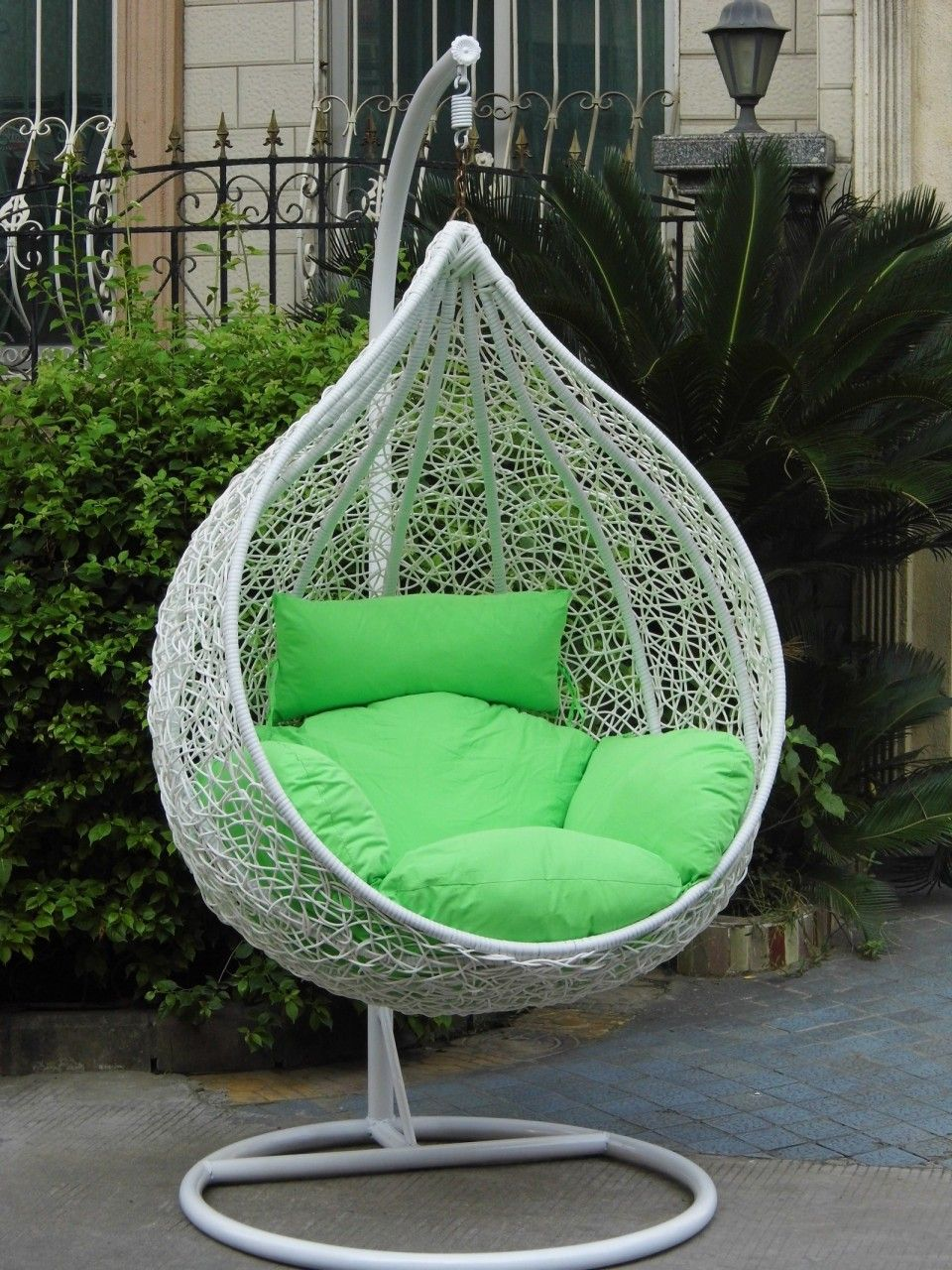 Outdoor Indoor Rattan Hanging Basket Hanging Chair Bird Nest Swing