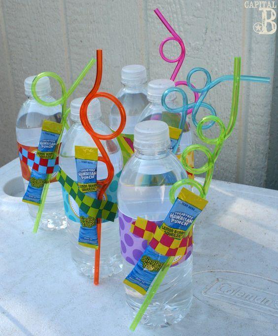Ideas para alberqueada como fiesta infantil dulceros for Albercas para fiestas