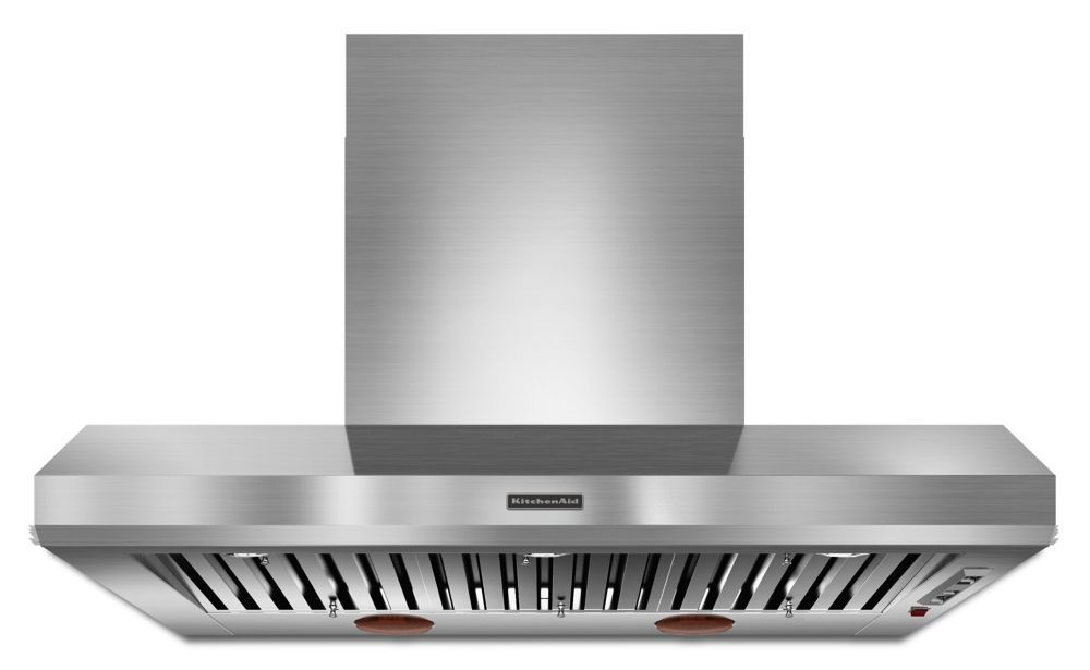 48inch commercial style canopy range hood in stainless