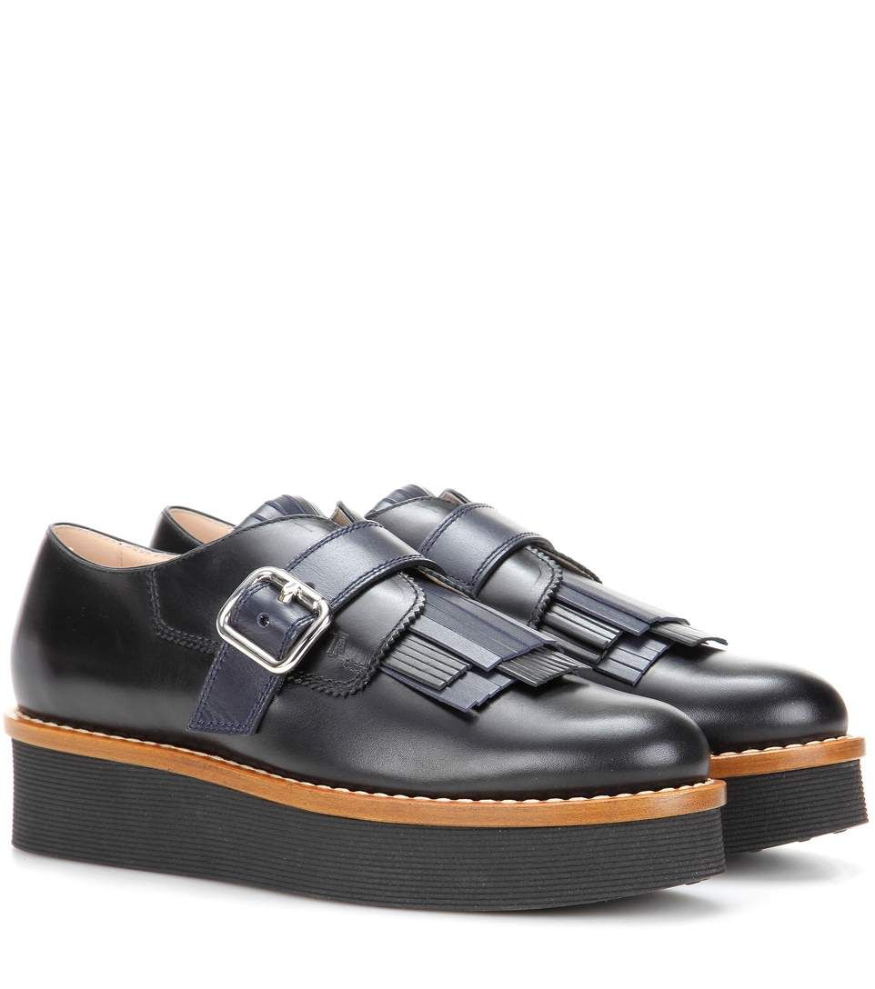 Tod's Platform leather loafers find great cheap online BrEugSE