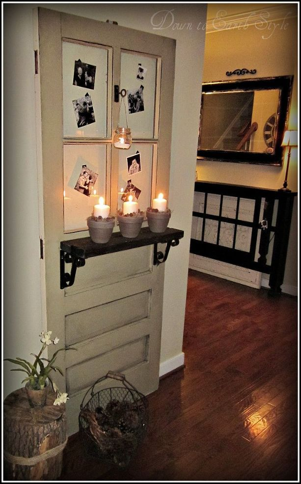 Photo of Hvordan dekorere med en gammel dør