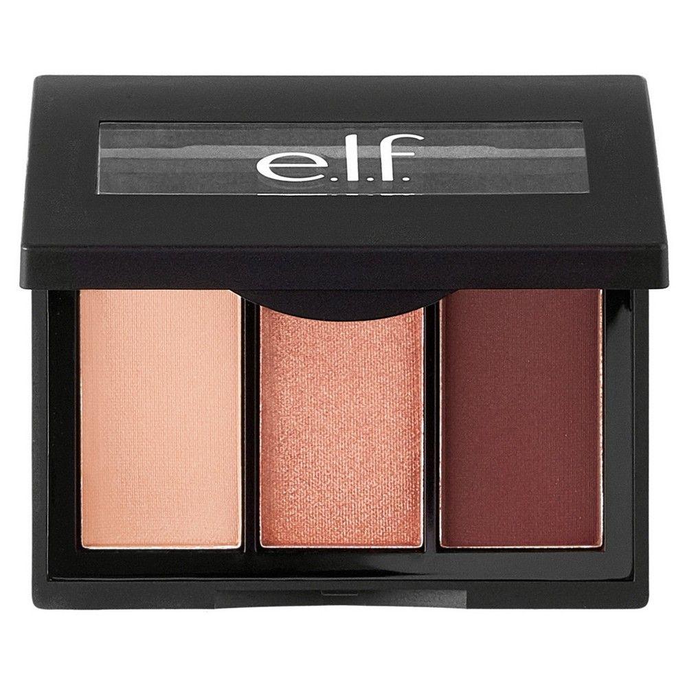 e.l.f. Sculpting Silk Eyeshadow Rose All Day .17oz, Pink