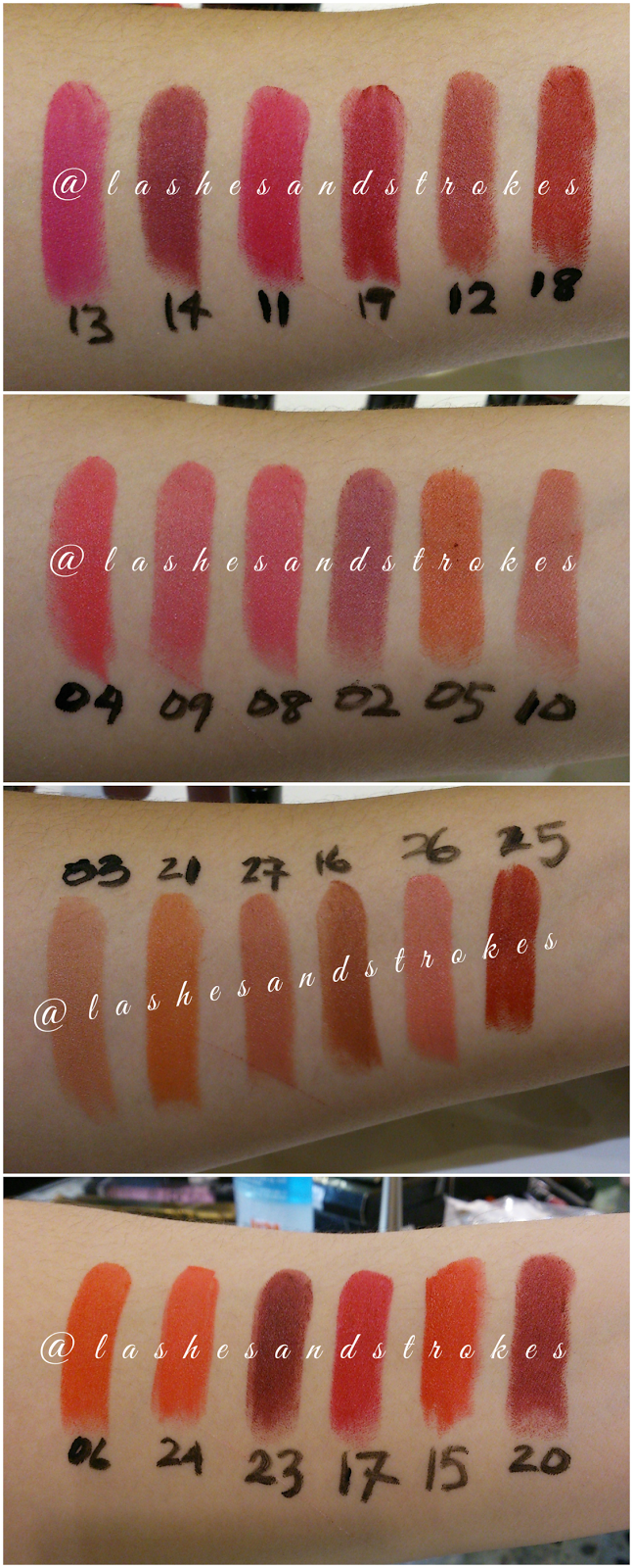 Golden Rose Velvet Matte Swatches Golden Rose Velvet Matte