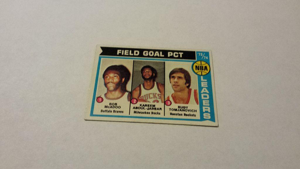 197475 topps kareem abduljabbar single basketball card