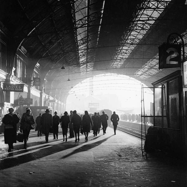 Victoria Railway Station With A Train For The Kent Coast Just Departing Platform 1960
