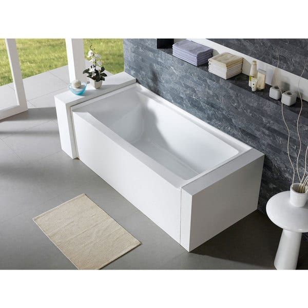 home freestanding vanity garden overstock today acrylic shipping soaking product art free bathtub inch